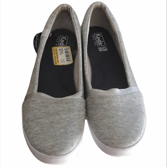 Keds gray sneakers NWT